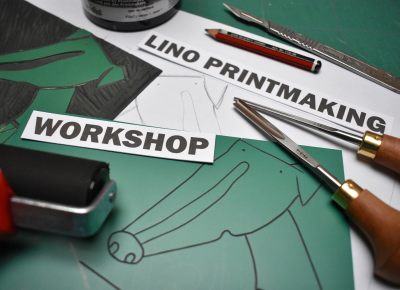 The Studios Gallery | Intro to Linocut Printmaking